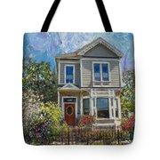 Alameda 1892 Queen Anne Tote Bag