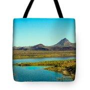Alamo Lake Tote Bag by Robert Bales