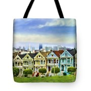 Alamo Row Tote Bag