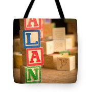 Alan - Alphabet Blocks Tote Bag