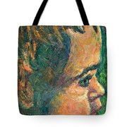 Alan By Our Window Tote Bag