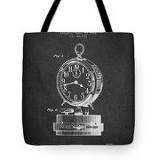 Alarm Clock Patent From 1911 - Dark Tote Bag