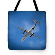 Alaska Airlines Turboprop Tote Bag