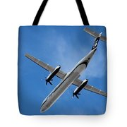 Alaska Airlines Turboprop Wide Version Tote Bag