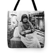Alaska Eskimo Woman Tote Bag
