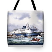 Alaska Ferry Tote Bag