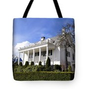 Alaska Governors Mansion Tote Bag