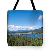 Alaska Highway Steel Bridge Teslin Yukon Canada Tote Bag