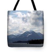 Alaska Inside Passage Tote Bag