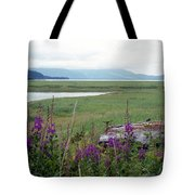 Alaska - Juneau Wetlands Tote Bag