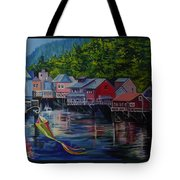 Alaska. Ketchikan Tote Bag