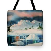 Alaska Panorama Tote Bag by Teresa Ascone