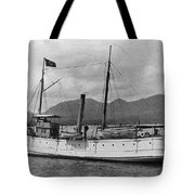 Alaska Steamboat Tote Bag
