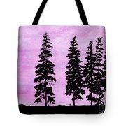 Colorful - Alaska - Sunset Tote Bag