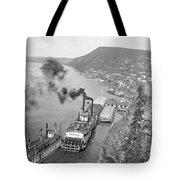 Alaska Waterfront Tote Bag