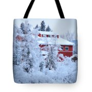 Alaskaland Train Station I Tote Bag