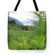 Alaskan Glacier Beauty Tote Bag