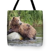 Alaskan Grizzly Tote Bag