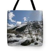 Alaskan Mountain Tote Bag