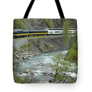 Alaskan Railroad Tote Bag