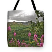 Alaskan Summer Tote Bag