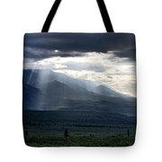 Alaskan Sunrise Tote Bag
