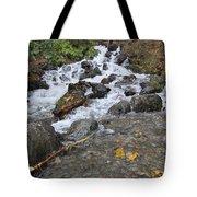 Alaskan Waterfall Tote Bag