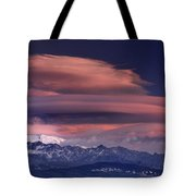 Alayos Mountains At Sunset In Sierra Nevada Tote Bag