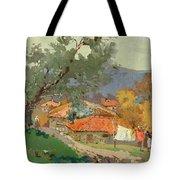 Albanian Countryside Tote Bag