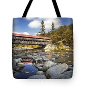 Albany Covered Bridge Tote Bag by Eric Gendron