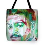 Albert Ayler - Watercolor Portrait Tote Bag