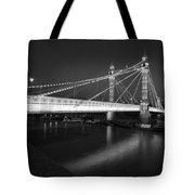 Albert Bridge At Night  Tote Bag