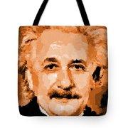 Albert Einstein 01 Tote Bag