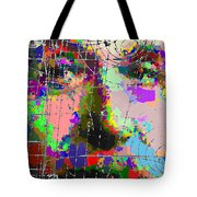 Albert Einstein - Atomic Particles  Tote Bag