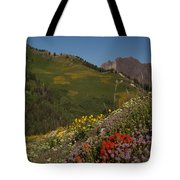 Albion Basin Summer Tote Bag