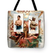 Album Of Worlds Champions Tote Bag