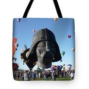 Albuquerque International Balloon Fiesta With Darth Tote Bag