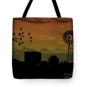 Albury At Night Tote Bag