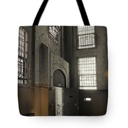 Alcatraz Doorway To Freedom Tote Bag by Daniel Hagerman