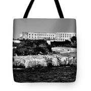 Alcatraz Federal Prison Tote Bag by Benjamin Yeager