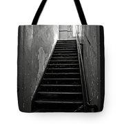Alcatraz Hospital Stairs Tote Bag