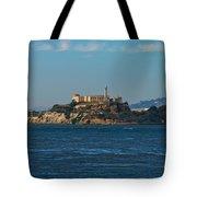 Alcatraz Island In San Francisco Bay Tote Bag