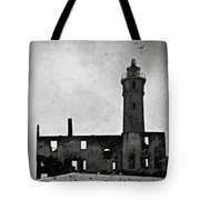 Alcatraz Island Lighthouse Tote Bag