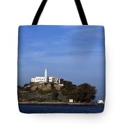 Alcatraz Island San Francisco Tote Bag