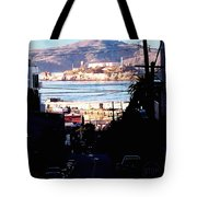 Alcatraz - So Close Yet So Far Tote Bag