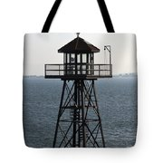 Alcatraz Watchtower Tote Bag