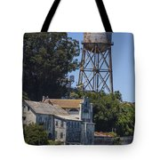 Alcatraz Water Tower Tote Bag by John McGraw