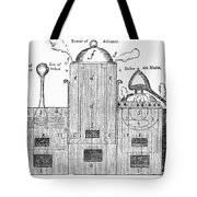 Alchemy: Tower Of Athanor Tote Bag