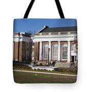 Alderman Library University Of Virginia Tote Bag