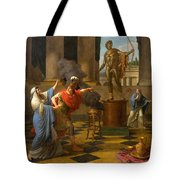 Alexander Consulting The Oracle Of Apollo Tote Bag